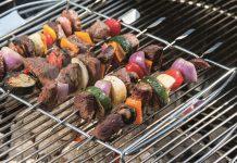 spiedini al barbecue