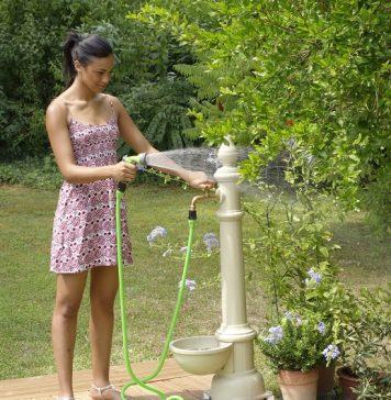 tubo da giardino raccordabile