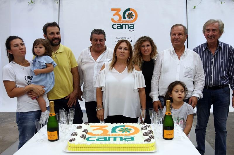Camaflor festeggia il suo 30esimo anniversario