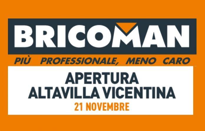 Bricoman ha aperto ad Altavilla Vicentina