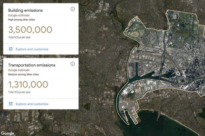 Google mapperà le emissioni di gas serra