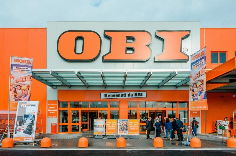 Plafoniere Da Obi : Restyling dello store obi di navacchio: ampliato il verde green retail