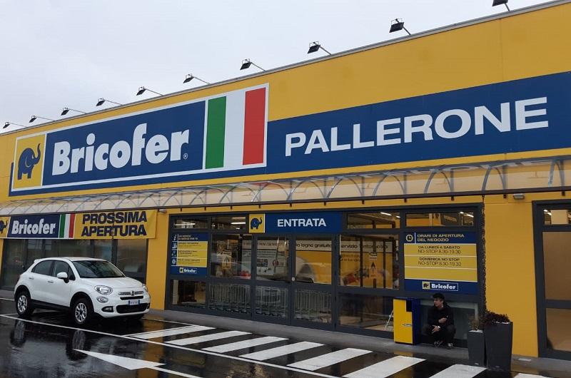 Inaugurato bricofer a pallerone ms
