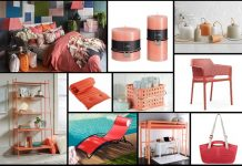 arredare casa e giardino con il colore pantone 2019