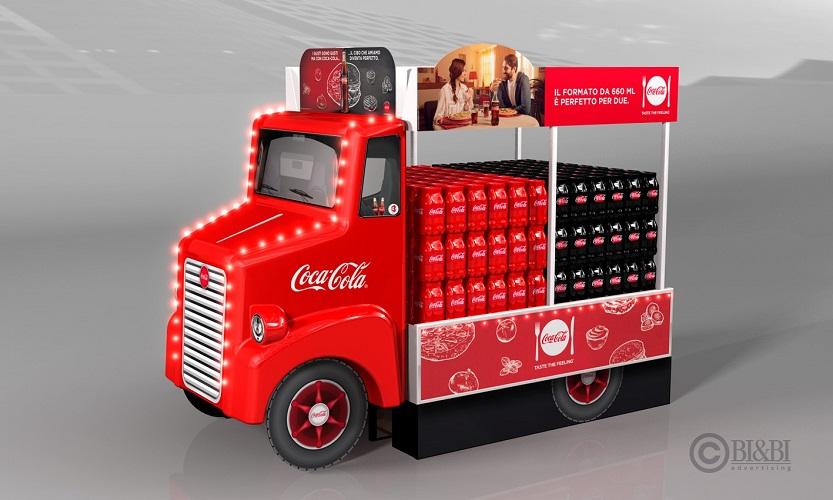 BI&BI Advertising – Truck Coke&Food
