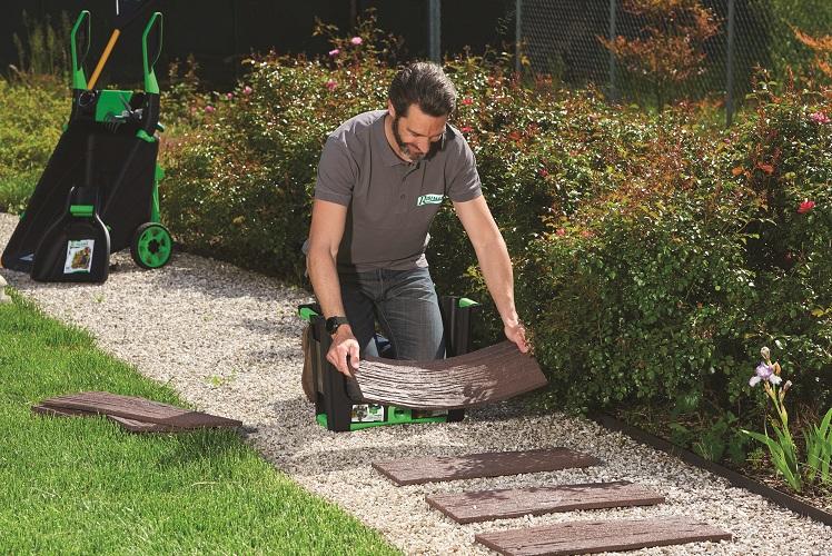 pavimentazioni e bordure in gomma riciclata
