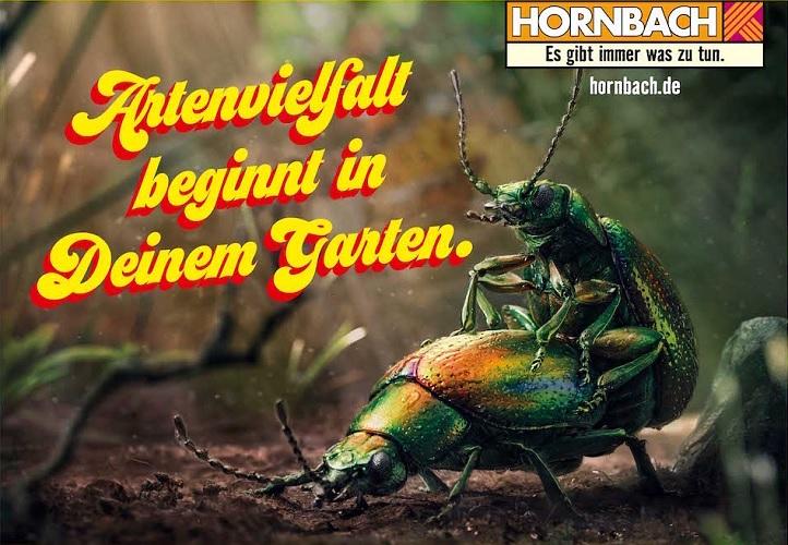 pubblicità di Hornbach