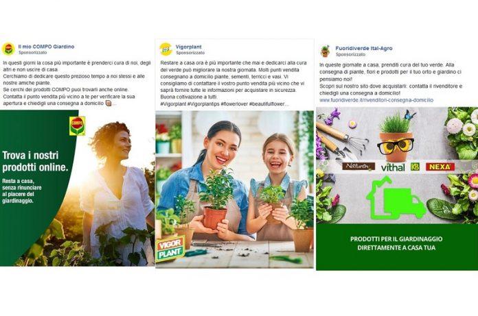 vendite di giardinaggio