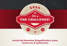 This Is The Challenge il concorso 2020 di Briggs Stratton