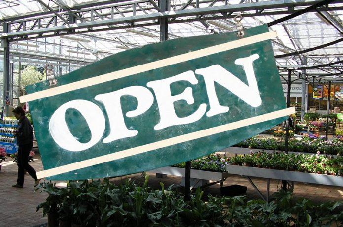 centri giardinaggio potranno aprire