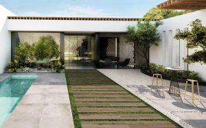 Mobili per il giardino - Ceramiche Supergrees