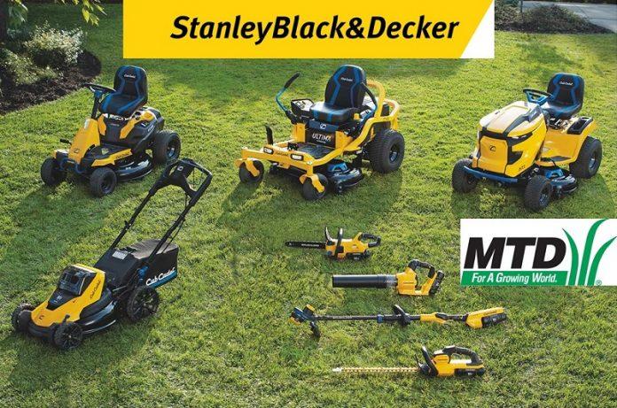 Mtd Holding è stata acquisita da Stanley Black & Decker